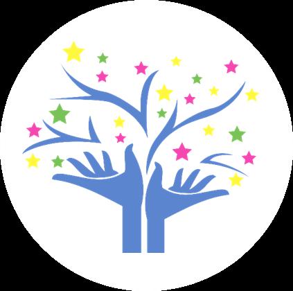 Logo rund weiss